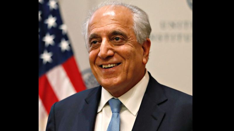 US Special Representative Zalmay Khalizad. (Photo: Twitter)
