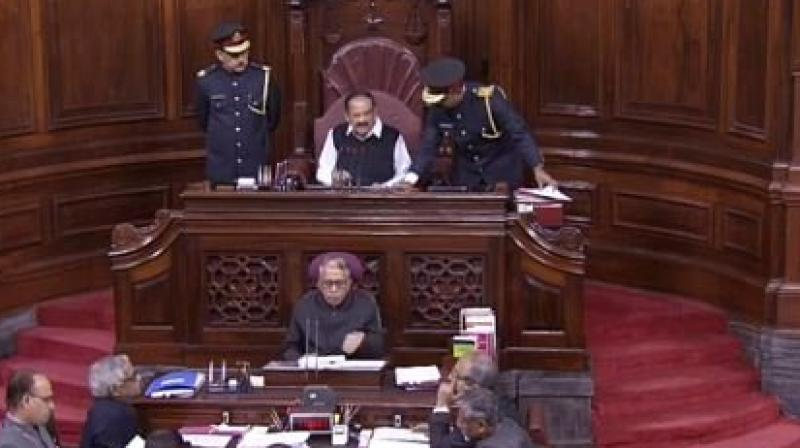 In the existing Act, there is a provision for the representation of a single national political party.  (Photo: RAJYASABHA TV)