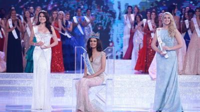 On winning the crown, Manushi said,