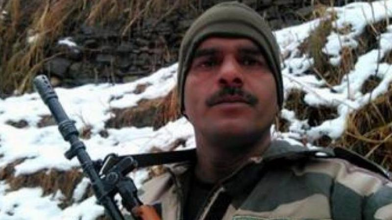 Suspended BSF constable and SP candidate Tej Bahadur Yadav (Photo: File)