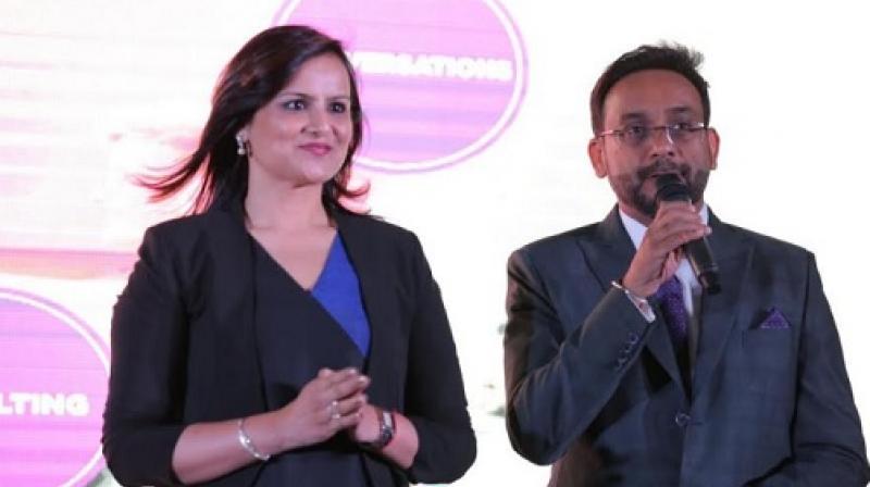 Devapriya Khanna and Gautam Macker, Co-founders, Connexus