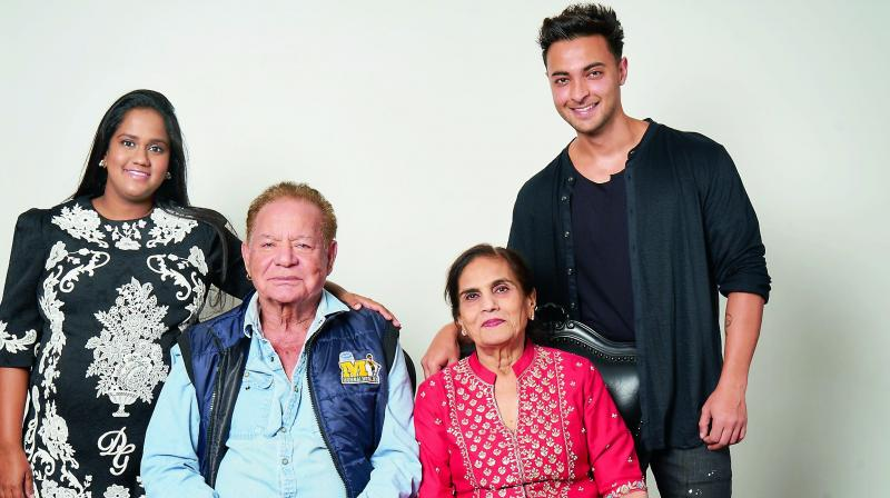 """""""The couple had personally invited all their friends to be part of their big day. The thing that was very special about the celebrations was that it marked the 55th wedding anniversary of Arpita's parents Salim and Salma Khan as well,"""" says a source."""