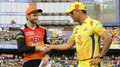 The Sunrisers Hyderabad (SRH) are set to lock horns with Chennai Super Kings (CSK) in the Qualifier 1 of the tournament as the knockout stage kicks off at the Wankhede Stadium on Tuesday. (Photo: BCCI)