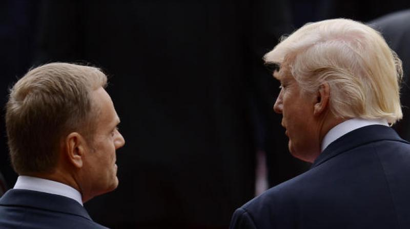 """EU president Donald Tusk on Wednesday urged leaders meeting in Bulgaria to form a """"united European front"""" against Trump's withdrawal from the Iranian nuclear deal and his move to impose trade tariffs on Europe.(Photo: AFP)"""