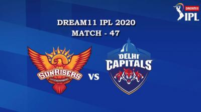 SRH VS DC  Match 47, DREAM11 IPL 2020, T-20 Match