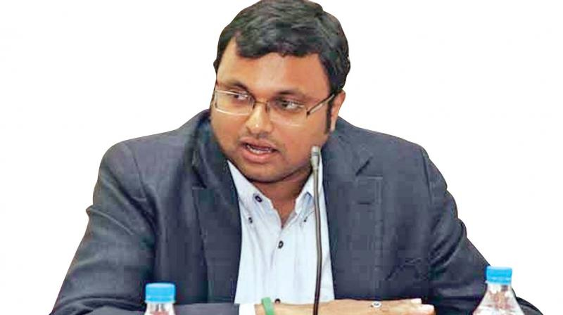 Karti argued that a special court had discharged all the accused and terminated proceedings in the matter. (Photo: File)