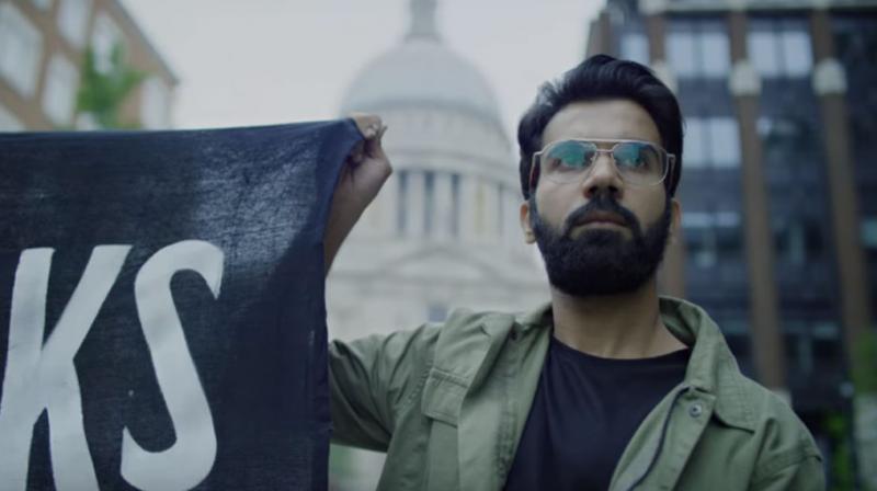 Rajkummar Rao in a still from 'Omerta.'