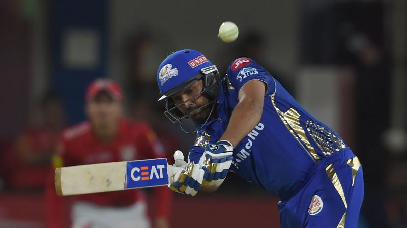 Rohit who scored 24 runs off 15 balls became the first Indian cricketer to hit 300 sixes or more across the Twenty20 format