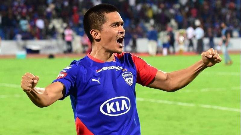Now by winning the ISL, Bengaluru FC will play in the AFC Asian Cup next year. (Photo: PTI)