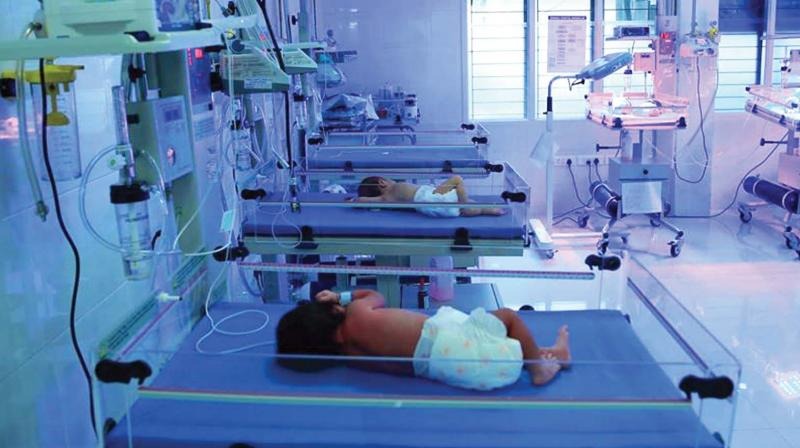 The neonatology unit of General Hospital. Courtesy: GH website