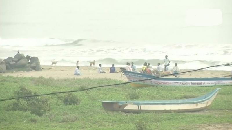 The delta districts are Nagapattinam, Thanjavur, and Thiruvarur districts and Pudukottai were worst affected in the cyclone. (Photo: Twitter | ANI)