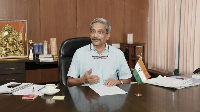 The Uddhav Thackeray-led party claimed that the BJP wants to buy time in the name of Parrikar till the Lok Sabha elections that are due next year.(Photo: File)
