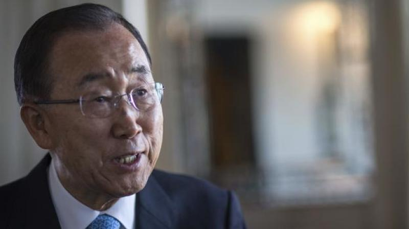 United Nations Secretary-General Ban Ki-moon speaks to the Associated Press during an interview, in Marrakech, Morocco, on Wednesday, (Photo: AP)