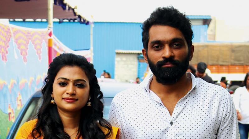 Rishi Rithvik and Asha Parthalom