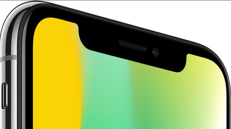 Some people think that the display notch is an eyesore. (Photo: iPhone X)