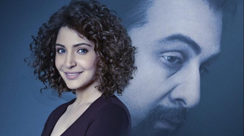 Poster of Anushka Sharma's look in 'Sanju.'