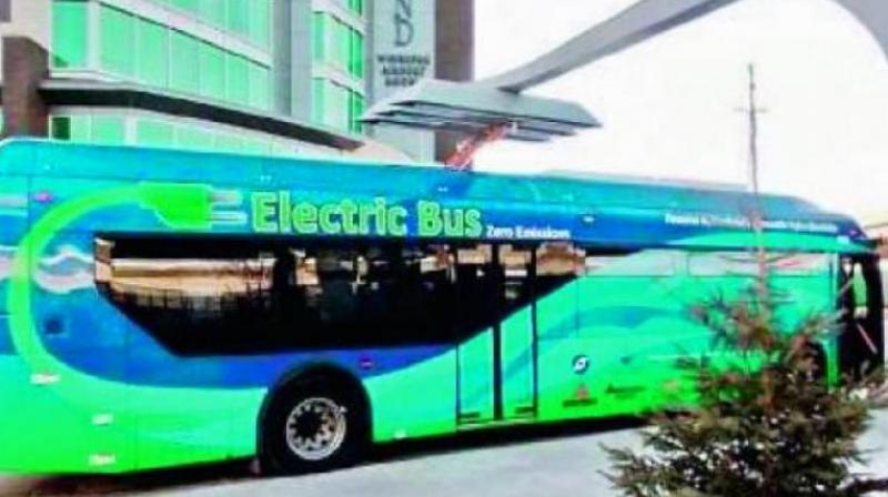 Each bus can seat 40 passengers and have modern passenger amenities as well as fire and safety measures. (Representational Image)