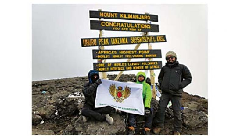 City teen mountaineers climbed Mount Kilimanjaro, Africa's highest mountain  (Image DC)