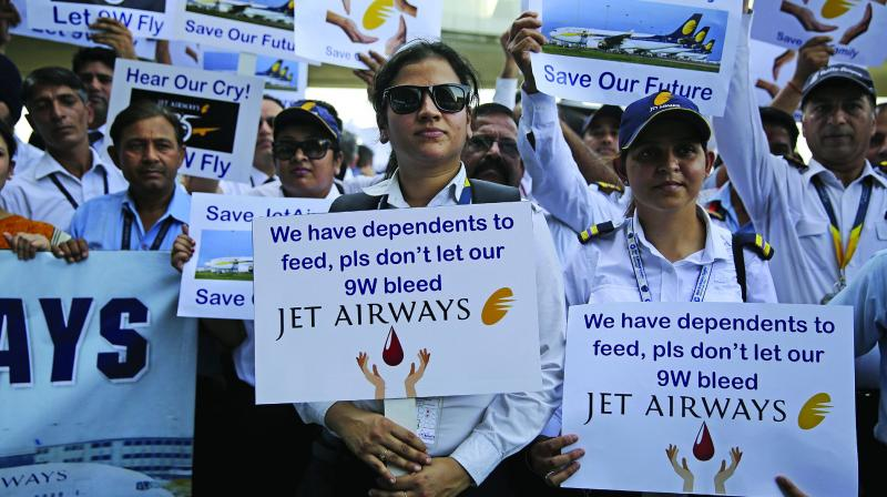 The Union in its letter suggested that if viable and acceptable proposals do not come at the earliest to take over the beleaguered Jet then banks should recommend to the government to either take over the airline or merge it with Air India.