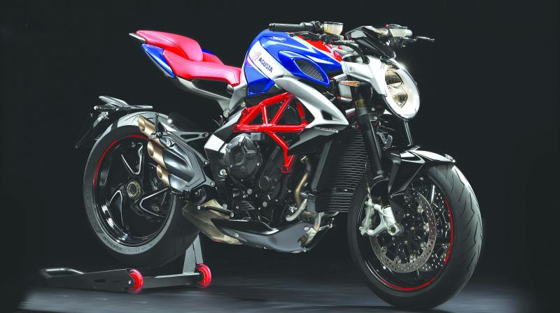 The Pune-based firm, the exclusive distributor of MV Agusta in India, said only five units of the superbike would be available for sale in the country.