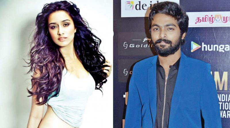 The huge buzz is that Bollywood beauty Shraddha Kapoor, who has a girl-next-door image, has been approached to play the female lead opposite GV Prakash Kumar for the Tamil remake of his blockbuster 100 Percent Love.