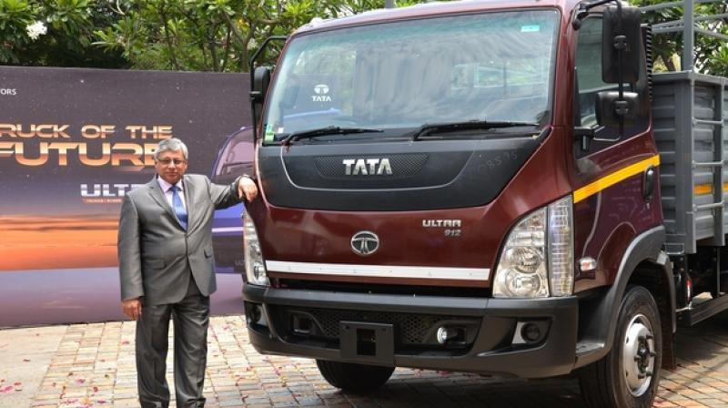 Tata motors launches ultra range of trucks for Tata motors commercial vehicles