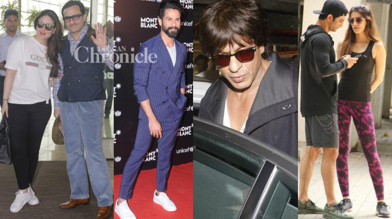 Shutterbugs spotted Bollywood stars as they stepped out for their professional and personal commitments on Tuesday. (Photo: Viral Bhayani)