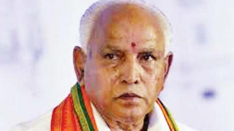 Among the people, BS Yeddyurappa said, he could sense anger against the Cong-JDS coalition government in Karnataka and affection towards the BJP.