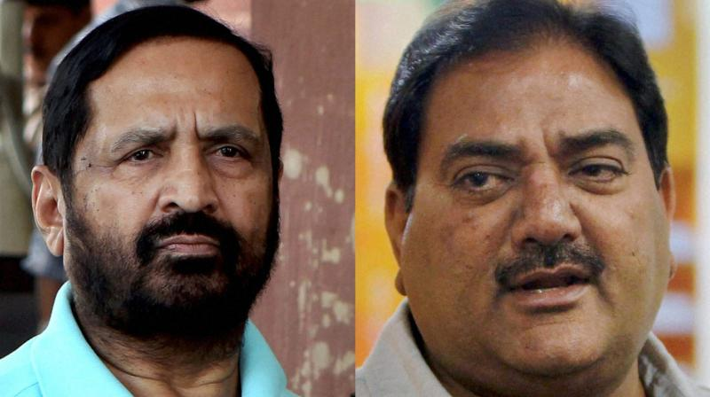 Kalmadi and Chautala were elevated to the honorary position at the IOA's Annual General Meeting (AGM) in Chennai on December 27. (Photo: PTI)
