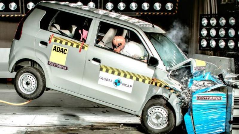WagonR only offers a driver airbag as standard.