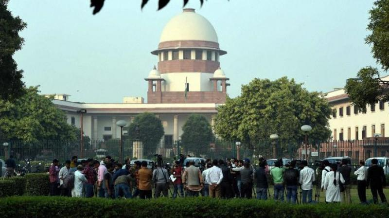 The advocate for Ram Lalla Virajman, one of the parties in the politically sensitive Ram Janmabhoomi-Babri masjid case, on Friday told the Supreme Court that there were several pictures of deities found on pillars at the disputed site in Ayodhya. (Photo: File)