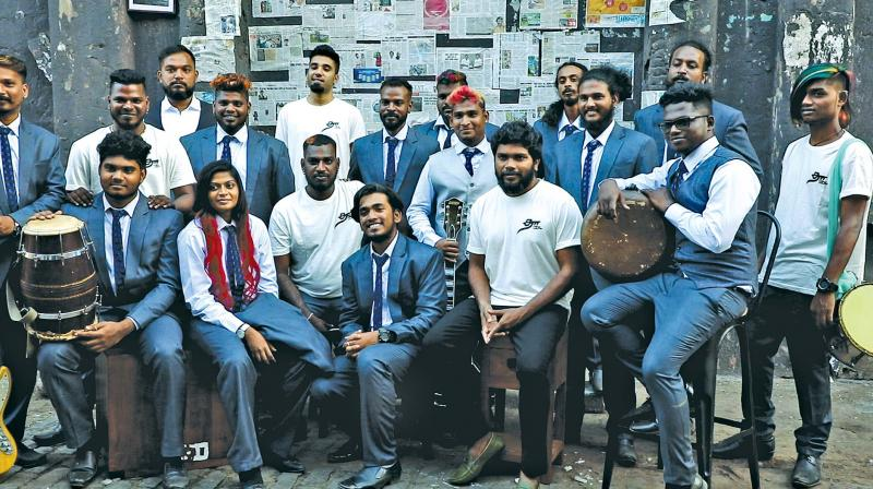 Ranjith with artists
