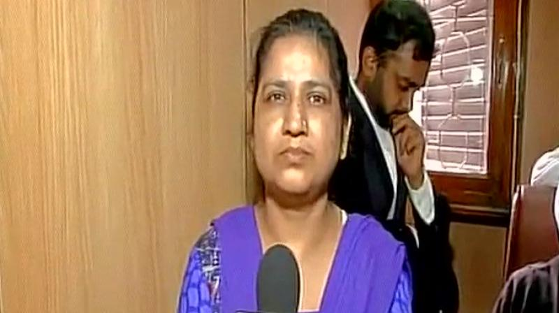 Triple talaq petitioner Shayara Bano said the judgement should be accepted and a law be made. (Photo: ANI/Twitter)