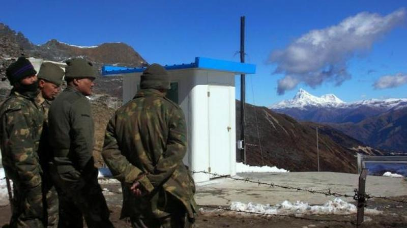 The Indian and the Bhutanese Army are operating together in the area to prevent any instruction by PLA. (Photo: PTI/File)