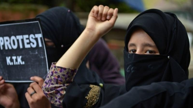 The Supreme Court on Tuesday held that 'triple talaq' form of divorce in the Muslim community has no sanction in Holy Quran and was bad in law. (Photo: AFP/File)