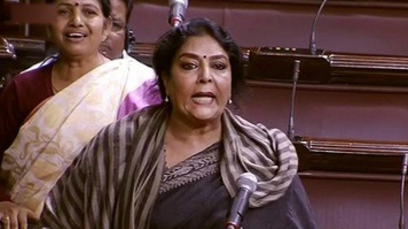 The video by Congress shows Modi's remarks over Renuka Chowdhury's laughter, his reported statement on Sonia Gandhi and his '50-crore girlfriend' remark about Shashi Tharoor's wife, Sunanda Pushkar, as well as RSS chief Mohan Bhagwat's remarks terming marriage a 'contract'. (Photo: PTI)