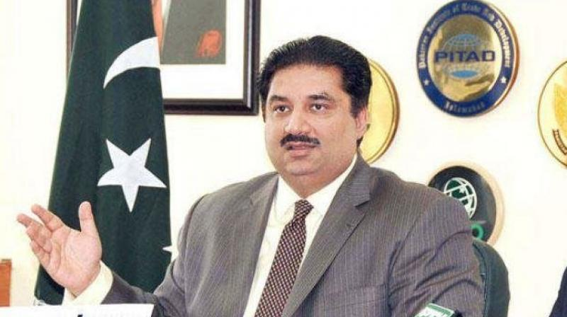 Pakistan Defence Minister Khurram Dastgir Khan, on Tuesday, warned that any Indian aggression will be met with an equal and proportionate response. (Photo: AFP)