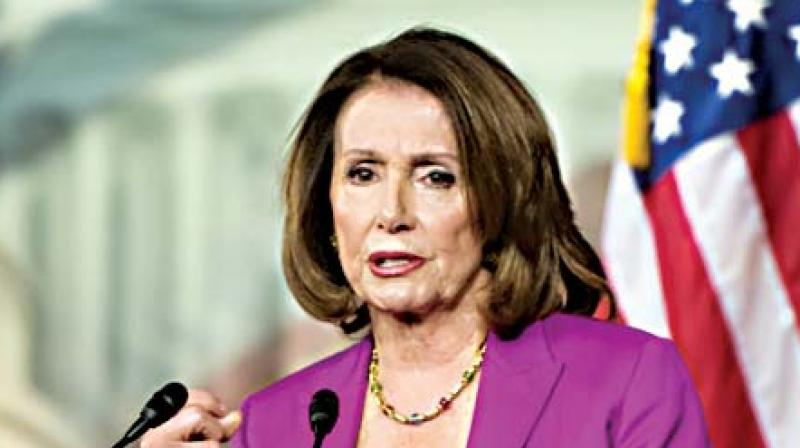 Speaker of the US House of Representatives Nancy Pelosi has said as she described how the Indian leader influenced American social activist Martin Luther King Jr. (Photo: File)