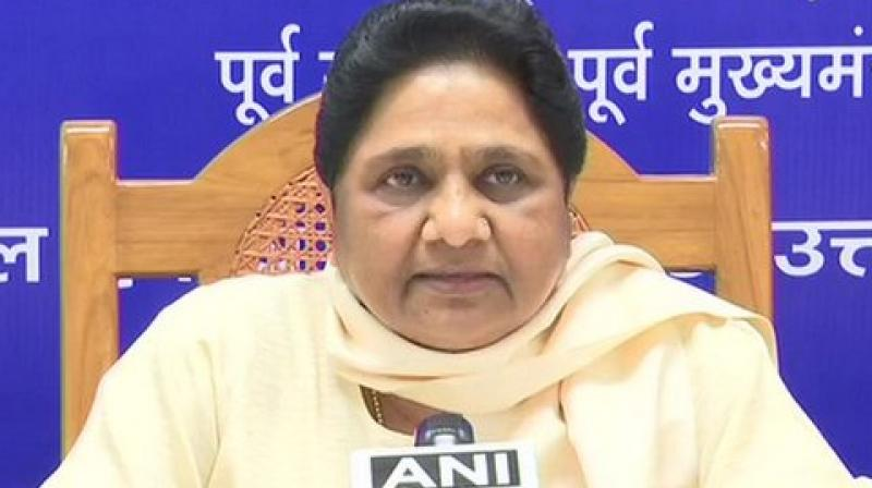 BSP stitched an alliance with SP and RLD in Uttar Pradesh and contested on 38 parliamentary seats, however, they could only manage to win 10. SP bagged 5, while RLD drew a blank. (Photo: ANI)