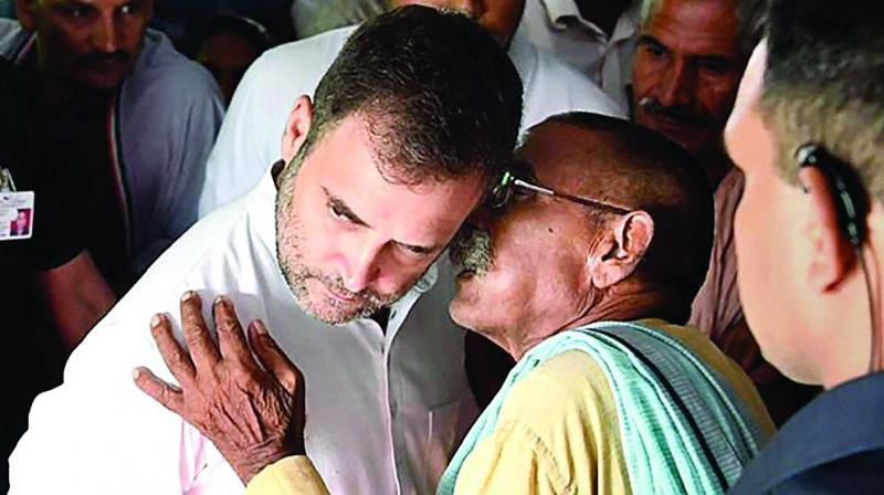 Among the leaders who wrote the letter are former PCC president V Hanumanth Rao, former minister S Chandrasekhar and All India Kisan Congress Vice Chairman M Kodanda Reddy. (Photo: PTI)