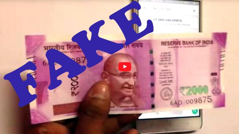 BEWARE! WhatsApp video on how to track Rs 2,000 notes via GPS is fake