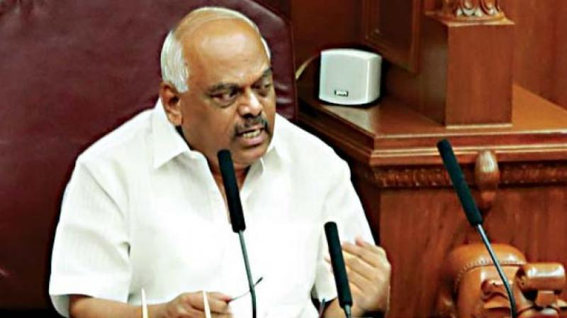 In a letter to the Governor, Karnataka Assembly Speaker K R Ramesh Kumar have expressed confidence to upheld the constitutional norms. (Photo: File)
