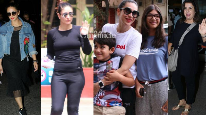 Bollywood stars were snapped by the shutterbugs as they stepped out for various reasons in Mumbai on Wednesday. (Photo: Viral Bhayani)