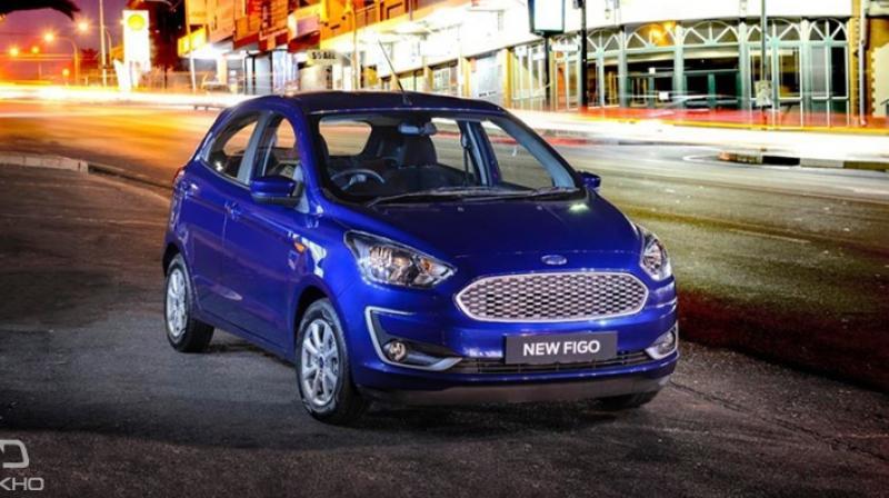 India Bound Ford Figo Aspire Facelift Revealed