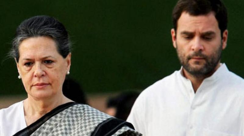 The Delhi High Court on Monday rejected Congress president Rahul Gandhi and United Progressive Alliance (UPA) chairperson Sonia Gandhi's plea challenging the Income Tax (IT) notice seeking tax reassessment for the financial year 2011-2012. (Photo: PTI)