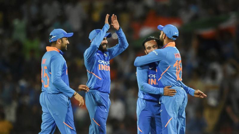 India plays Australia at the Oval. (Photo: PTI)