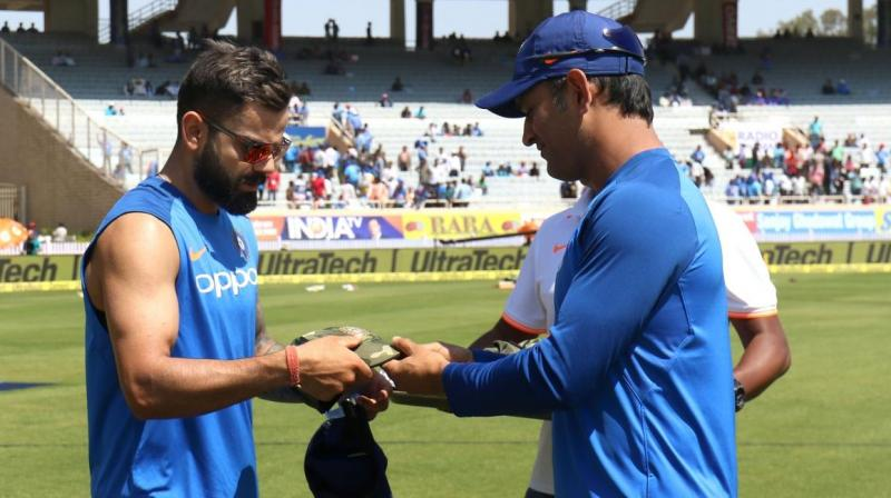 Kohli urged everyone to contribute towards the National Defence Fund so that the money could be used for the welfare of the families of the slain CRPF Personnel. (Photo: Twitter / BCCI)