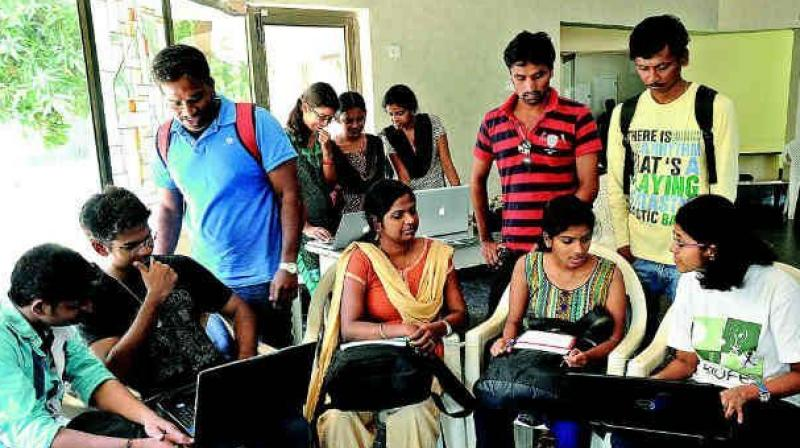 Nearly 14,000 Tier 4 student visas were granted to Indian students this year. (Representational image)