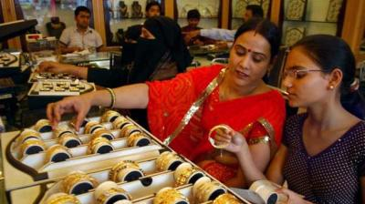 Of late, customers are not used to such a jump in prices, said Anantha Padmanabhan, chairman of the All India Gem and Jewellery Domestic Council. (Photo: File | PTI)