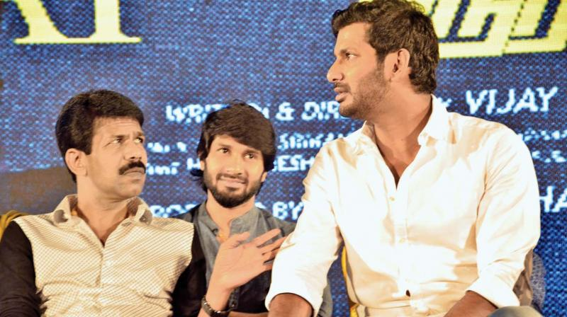 Bala and Vishal at the event
